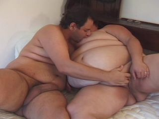 couple of fat in action