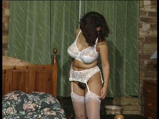 British slut Belinda plays with yourselves in various scenes