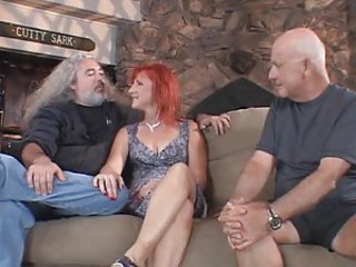 Videotape with husbands watching wives fuck