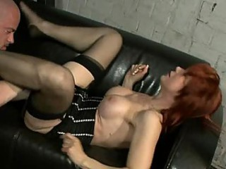Mature Redhead Nina Stein Desperate To Fuck Her Convict Husband