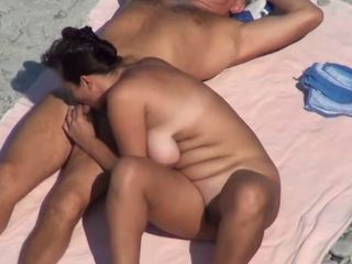 Beach Blowjob Nudist Voyeur