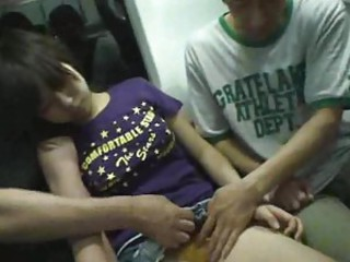 Sleeping Girl groped & fucked on a Train