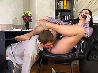 Gwendolen&Bertram naughty nylon feet movie
