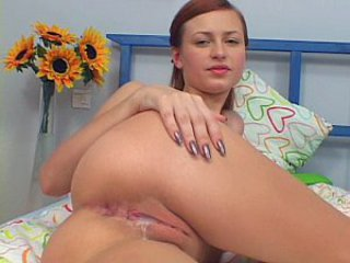 Russian Redhead Teen Taking Red...