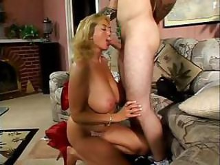 Big Titted Mom Has A Teen Lover