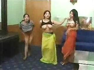 Arabian teens showing on web cam