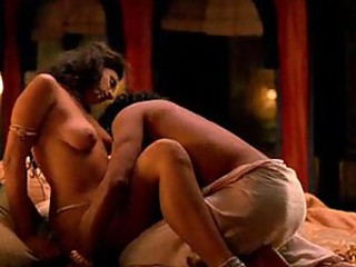 Celebrity babe Indira Varma in lusty love scenes