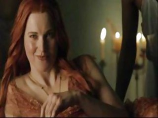 Xena's Lucy Lawless Nude In Spartacus