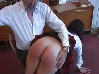 Student being spanked part 2