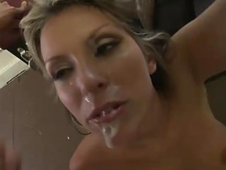 Courtney Cummz Hot Ass Gets Burned By Two Big Dicks