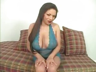 Lingerie black girl and her anal lust