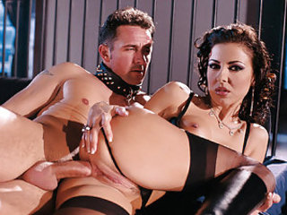When foxy brunette Maria Belluci wants to fuck she is prone to coming up with something very raunchy that simply cannot but have strong effect on you! This time she wears some kinky attire having some