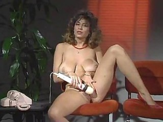 Legendary Christy Canyon masturbates