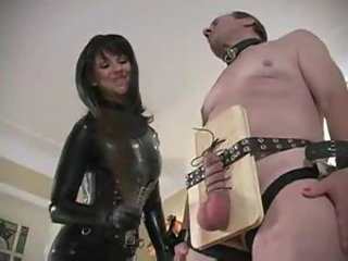 It is all about pain for his submissive balls