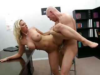 Devon Lee spunk in the mouth with cumshot