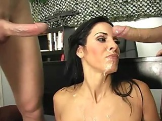Hardcore Double Penetration For The Uniformed MILF Veronica Rayne
