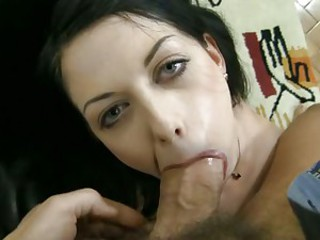 Rocco Siffredi crams his huge prick into a sluts mouth