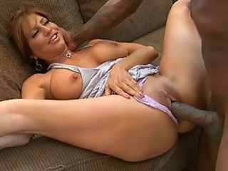 Incredibly Hot Brunette MILF Tara Holiday Gets Interracially Fucked