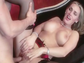 Shaved streetwalker Tanya Tate spreads her cheeks and feels the awesome dick in her