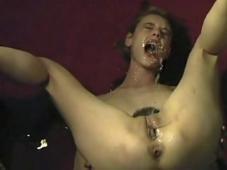 Loved squirt self facial