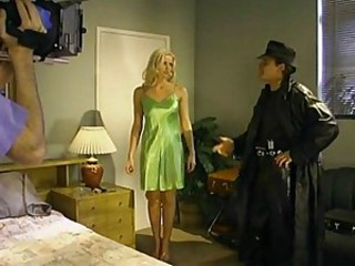 Hot slut behind the scenes