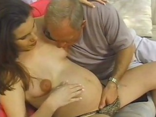 Hot Teen Preggo Shane Taylor Gets Fucked and Jizzed On By an Old Man