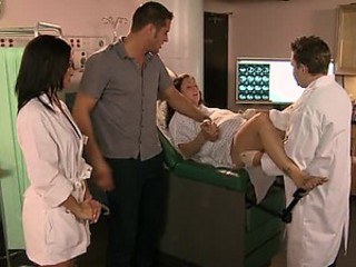 Cock-Bursting Obscurity Nurse Ann Marie Rios Gets Fucked and Facialized