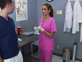 Doctor Isis Taylor Fucking The New Intern To Taste His Cum