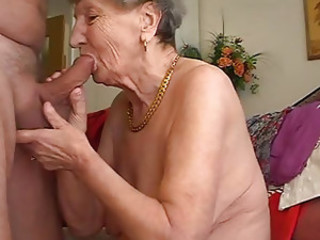 Granny likes to work the flute