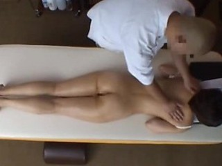 Asian Housewife Has Sex After a Massage