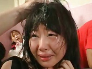 Extreme sex with asian maids fucked