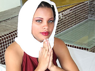 Arab Babe Gets Interrogated!