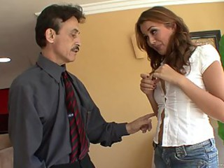 Allie Haze Gets Her Pussy Fucked By Her Mom's Husband