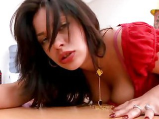 Poke pussy with big cock