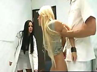 Doctor Adventures - Female doctors and nurses fuck th...