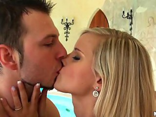 Heart-Stopping Blonde Teen Marry Queen Gets Ass Fucked and Facialized