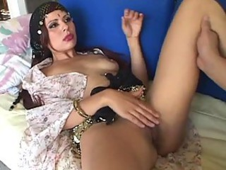 Horny Fortune Teller Gets One Hell OF A Creampie From A Big Cock