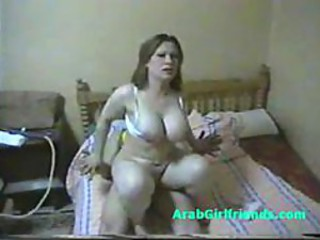 Fat nuisance egyptian whore fucks off out of one's mind boyfriend