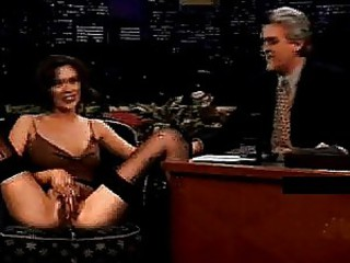 Terri Hatch on the Tonight Show