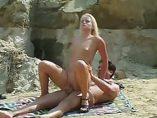 Blonde Beach Fuck