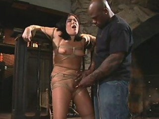 Submissive Bondage Slut Ashley Blue Gets Tortured and Then Fucked