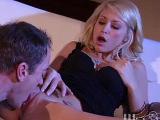 Hot Tattooed Blonde Monique Alexander Gets Fucked and Covered In Jizz