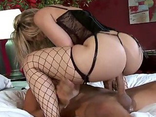 Beamy Ass Blonde Mollycoddle Gives her Beamy Cock Husband Some Hardcore Sex