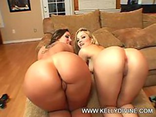 Kelly D with an increment of Alexis Texas