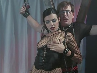 Kinky slut sex swing fuck