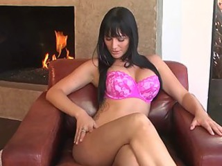 Hot Masturbation Session With Sexy Brunette Destiny Dixon