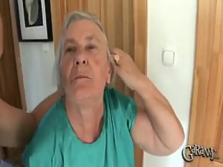 Granny Takes Out Her Dentures