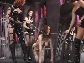 Insanely Hot Busty Babe Gets Abducted and Tortured in a Sex Dungeon