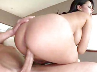 Busty Latina loves big dick