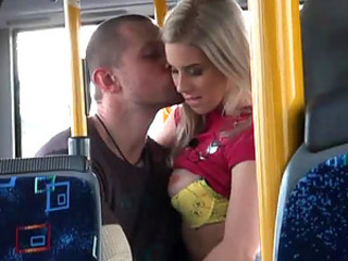 Hardcore Sex In A Public Bus